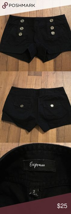NWOT Express black shorts Size: 2 NWOT Express black shorts Size: 2 Express Shorts