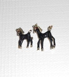 Vintage Figural wild horse scatter pins Black by BuyMyVintageLuv, $25.00