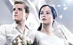 Katniss and Peeta wedding photo