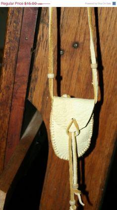 Elk Hide Medicine Bag Native American Sacred by Northernlodge, $15.00