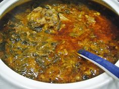 Maryam's Culinary Wonders: 681. Iraqi Tomato Spinach Stew