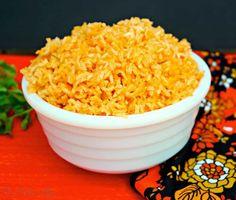 Spanish Rice - The Foodie Affair