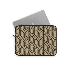 Bauhaus Laptop Sleeve – WavyBazaar Macbook Sleeve, Sleeve Designs, Laptop Sleeves, Prints, Accessories, Notebook Covers, Printmaking, Ornament