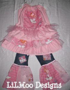 BOUTIQUE Custom LiLMoo 5 T BALLERINA Girl by LittleMissMaddiMoo, $49.99