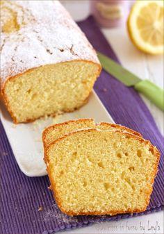 Plumcake al limone e panna - Soft lemon plumcake and cream  #plumcake #limone #lemon #panna #cream #soft #recipe #taste #foodporn