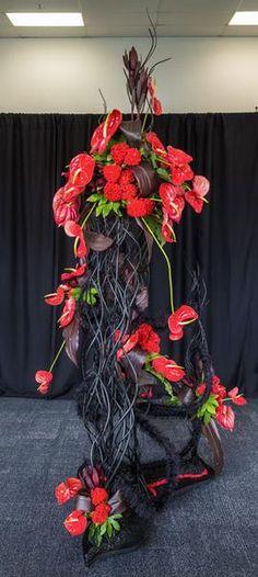 3rd place, Vanita Patel, Takapuna Floral Art Club