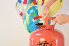 How to inflate a balloon using a helium canister - Party Pieces Blog & Inspiration
