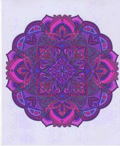 ColorIt Mandalas Volume 1 Colorist: Lorrie Palmer #adultcoloring #coloringforadults #mandalas #mandalastocolor