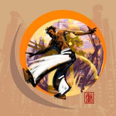 Encres : Capoeira – 546 [ #capoeira #digital #illustration]