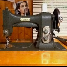 Antique 77 series White Rotary sewing machine. And it works!