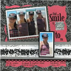 that Smile is bliss to me - Scrapbook.com