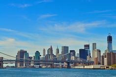 A view of downtown New York City!