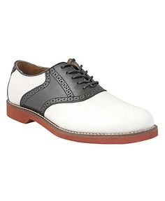 Bass Shoes, Burlington Spectator Signature Saddle Oxfords - Mens Shoes - Macy's