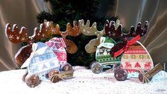 "Декупаж - Сайт любителей декупажа - DCPG.RU | ""Эскадрон моих мыслей шальных..."" Christmas Decoupage, Vintage Christmas, Gingerbread, Blog, Ginger Beard, Blogging, Old Time Christmas, Retro Christmas"