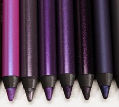 Urban Decay 24/7 Eyeliners: Smoke, Empire, Delinquent, Vice, Psychedelic Sister, Ether, Asphyxia
