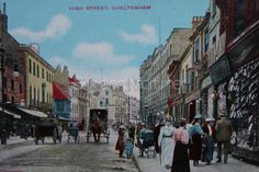 Cheltenham High Street circa 1904 #Brixandmortimer #Cheltenham *************************************** Brix and Mortimer | Cheltenham Estate Agents | Period Pictures Collection | ☎ 01242 898 746