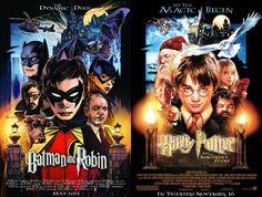 Batman and Robin 40 Voltar para DC Comics faz mês de homenagem a cartazes de filmes - veja as capas das HQs