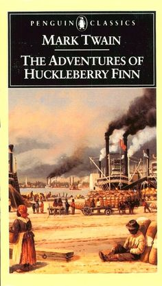 the experience of literature while reading the adventures of huckleberry finn by mark twain Mark twain used his  read the a dventures of huckleberry finn  he adopted his famous pen name from his river experience mark twain—meaning.
