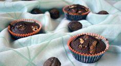 Muffins façon brownies sans gluten et sans lactose #sansgluten #sanslactose