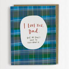 Je t'aime papa mais nous n'avons pas à par emilymcdowelldraws, $4.50