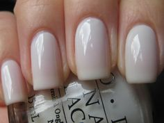 Favorite of all-time. OPI's Funny Bunny.