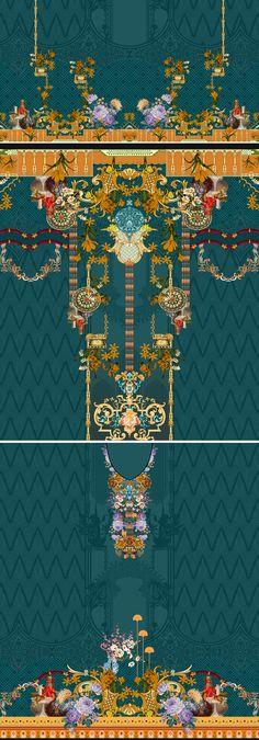 Paisley Art, Border Design, Textile Design, 3 Piece, City Photo, Bohemian Rug, Textiles, Suit, Digital