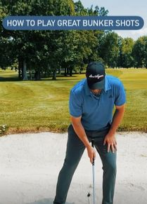 Hitting It Solid together with the Art Of Simple Golf share some great tips to play better golf bunker shots. Golf Books, Golf Score, Golf Chipping, Best Golf Courses, Golf Instruction, Golf Putting, Golf Exercises, Golf Training, Golf Lessons