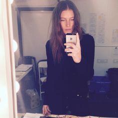 Dree Hemingway's new brunette by Lena Ott for Suite Caroline!