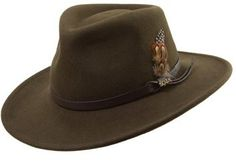 €46, Sombrero de Lana Verde Oliva de Scala. De Nordstrom. Detalles: https://lookastic.com/men/shop_items/95394/redirect
