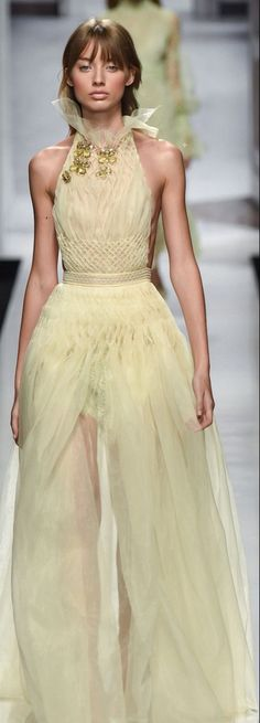 Ermanno Scervino, Formal Dresses, Wedding Dresses, High Fashion, Ball Gowns, Ready To Wear, Flower Girl Dresses, Pastel, Spring Summer