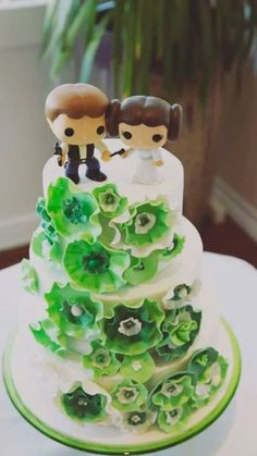 Geek themed weddings are increasingly popular over the past few years. Couples are straying from tradition and incorporating unique elements into their big.