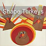Shape Turkeys