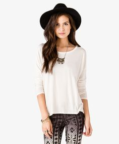 Long Sleeve Top   FOREVER21 - 2024686005