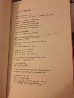 Sarah Kay - Love Poem #137
