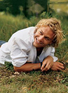 """""""When Heath smiles, it's Errol Flynn,"""" said A Knight's Tale director Brian…"""