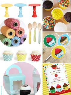 Baking Birthday Party Ideas and Inspiration - For Girls or Boys #BakingParty #Birthday #Cupcakes