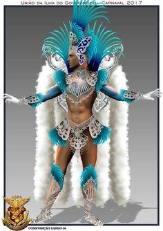 Showgirl Costume, Samba Costume, Trinidad Carnival, Caribbean Carnival, Carnival Outfits, Carnival Costumes, Anime White Hair Boy, Carnival Floats, Carnival Headdress