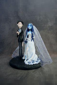 Custom Beetlejuice Wedding Cake Topper | Pinterest | Beetlejuice ...
