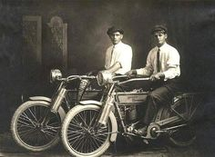 Mr Harley and Mr Davidson