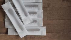 A4厚手トレペと白インクハンコでパッケージングアイデア