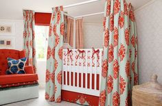 10 Great Crib Ideas From Classic to Whimsical. Wrap around blackout curtains for privacy.