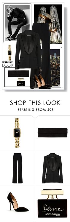 """""""Power Look"""" by dezaval ❤ liked on Polyvore featuring Chanel, Murphy, Rick Owens, DKNY, Tom Ford, Zara, Dolce&Gabbana and powerlook"""