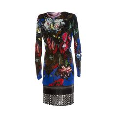 Roberto Cavalli Multicolored Floral Dress from Come Nuovo on RubyLUX @shoprubylux