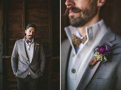 boho chic winter wedding -