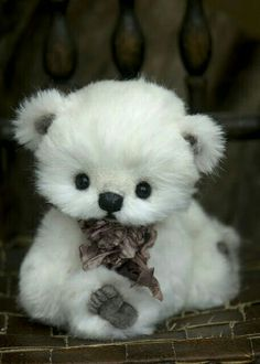 #orsetto #peluche #white #bear