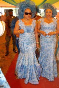 Nigeria African Dresses for Women | variety of sleeves no sleeve is out of reach with various aso ebi ...