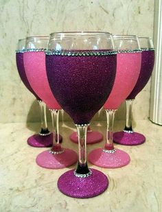 Artistic wine glass painting ideas (2)