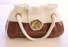 Hand bag cake - For all your cake decorating supplies, please visit craftcompany.co.uk