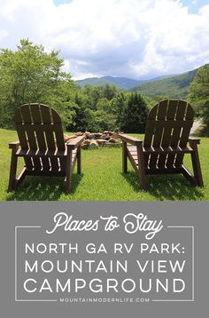 Looking for an RV Park nestled in the Blue Ridge Mountains of Northern Georgia? Check out Mountain View Campground in Hiawassee, Georgia! Best Places To Camp, Camping Places, Camping Spots, Rv Camping, Camping Stuff, Camping Ideas, Camping Outdoors, Camping Essentials, Glamping