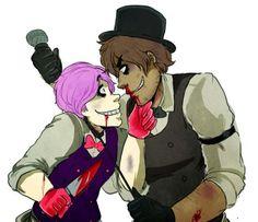 Human Bonnie and Freddy